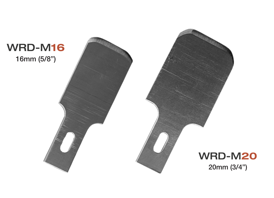 New WRD Moon Blades - Optimized blade radius edge - available now