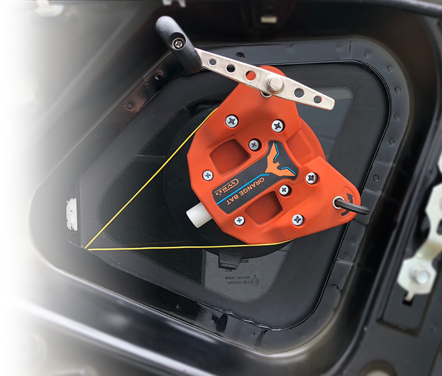 WRD Orange Bat - Hand Crank e View